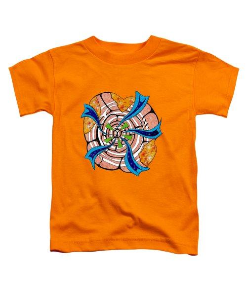 Abstract Digital Art - Ciretta V3 Toddler T-Shirt by Cersatti