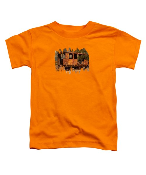 All Aboard The Excursion Car Toddler T-Shirt by Thom Zehrfeld