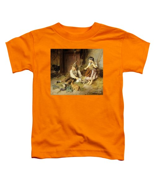 An Unwelcome Visitor Toddler T-Shirt by Felix Schlesinger