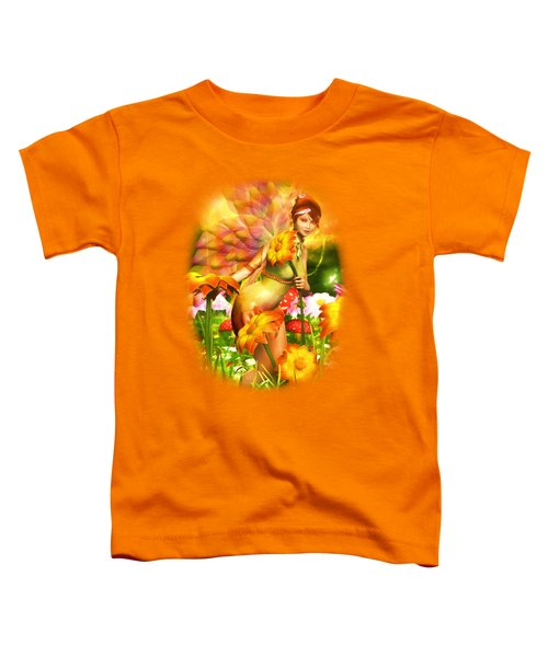 Golden Adornments Toddler T-Shirt by Brandy Thomas