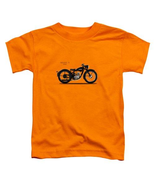 Harley-davidson Model S Toddler T-Shirt by Mark Rogan