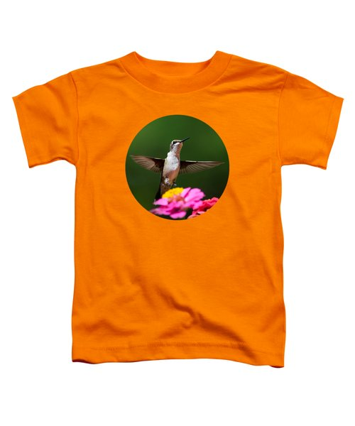 Hummingbird Toddler T-Shirt by Christina Rollo