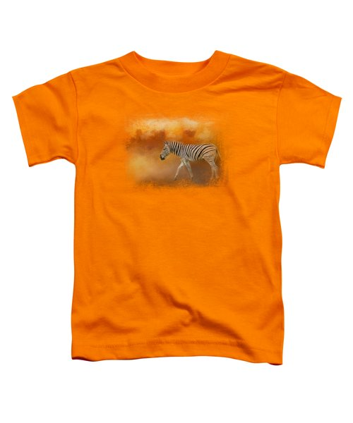 In The Heat Of Summer Toddler T-Shirt by Jai Johnson