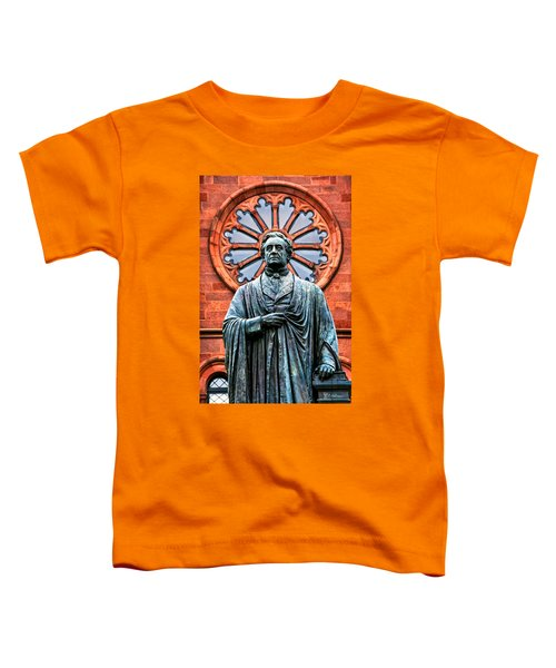 James Smithson Toddler T-Shirt by Christopher Holmes