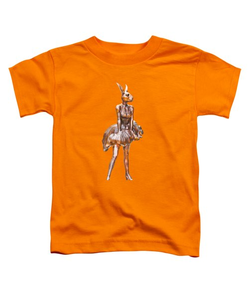 Kangaroo Marilyn Toddler T-Shirt by Susan Vineyard