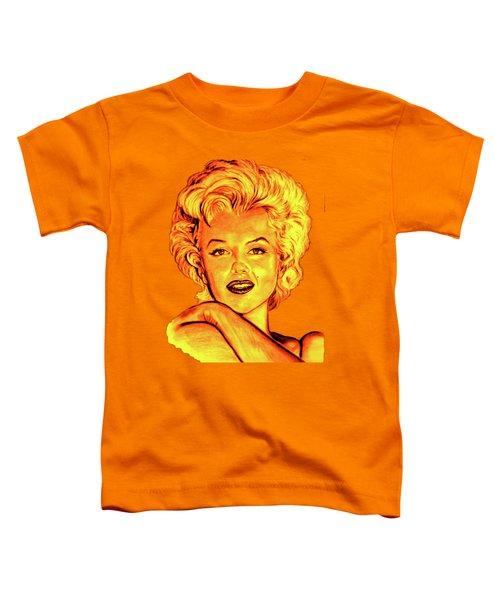 Marilyn Toddler T-Shirt by Gitta Glaeser