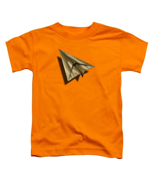 Paper Airplanes Of Wood 18 Toddler T-Shirt by YoPedro