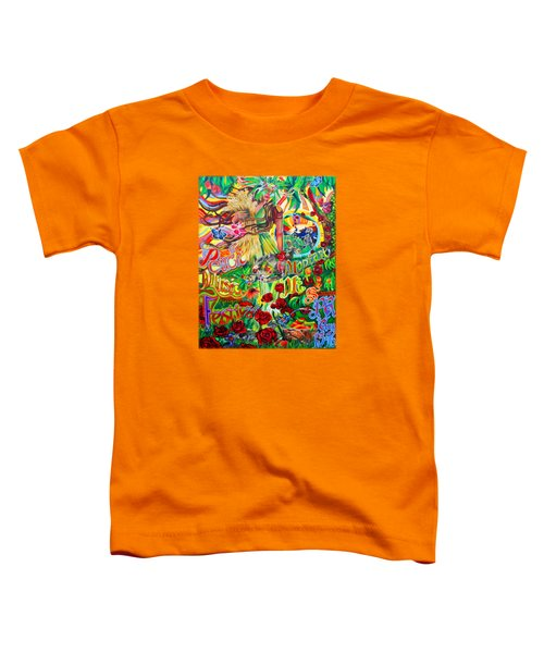 Peach Music Festival 2015 Toddler T-Shirt by Kevin J Cooper Artwork