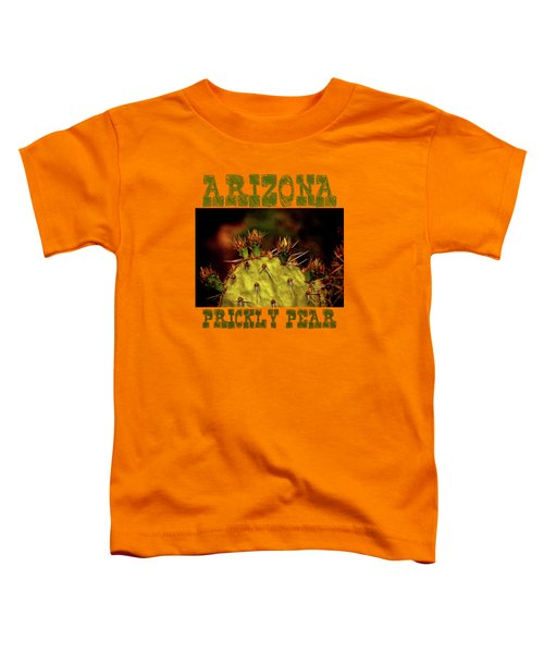 Prickly Pear Spring Toddler T-Shirt by Roger Passman