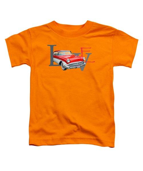 Love Toddler T-Shirt by Laur Iduc