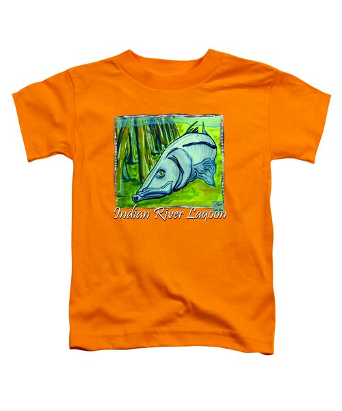 Snook Fish Toddler T-Shirt by W Gilroy
