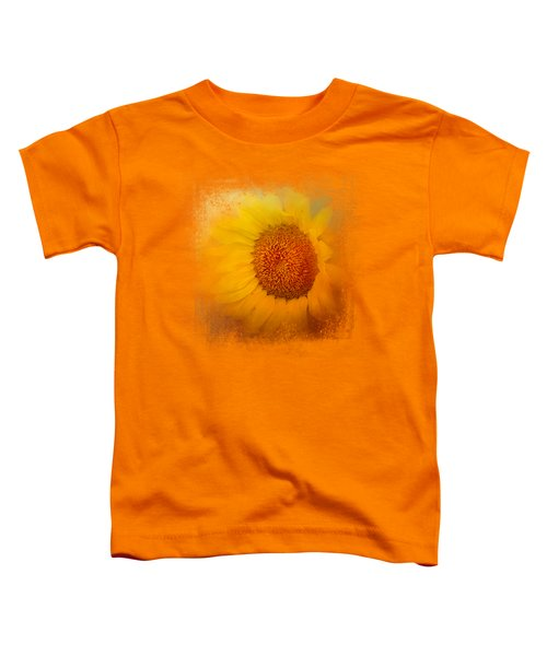 Sunflower Surprise Toddler T-Shirt by Jai Johnson