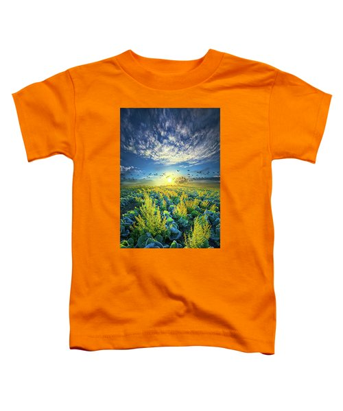 That Voices Never Shared Toddler T-Shirt by Phil Koch