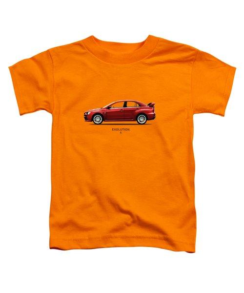 The Lancer Evolution X Toddler T-Shirt by Mark Rogan