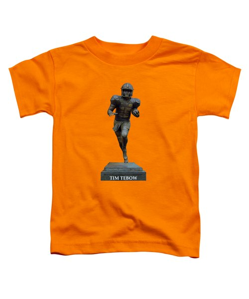 Tim Tebow Transparent For Customization Toddler T-Shirt by D Hackett