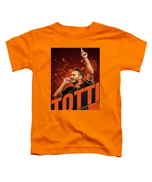Totti Toddler T-Shirt by Semih Yurdabak