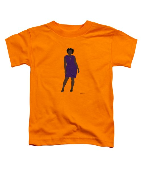 Vanessa Toddler T-Shirt by Nancy Levan