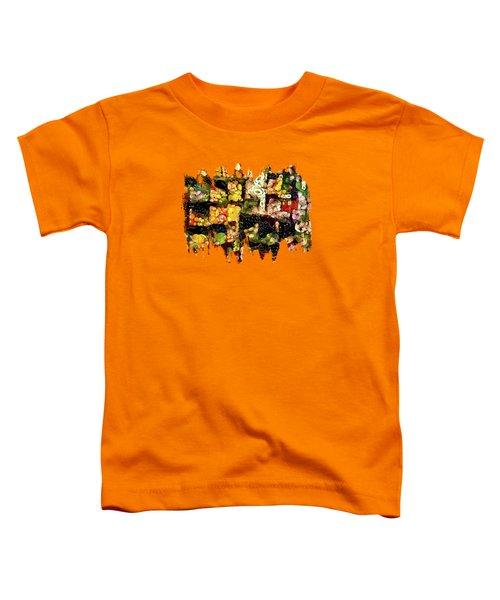 Veggies And Fruit Galore Toddler T-Shirt by Thom Zehrfeld