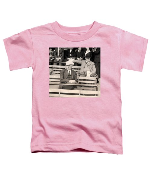 Babe Ruth In The Stands At Griffith Stadium 1922 Toddler T-Shirt by Mountain Dreams