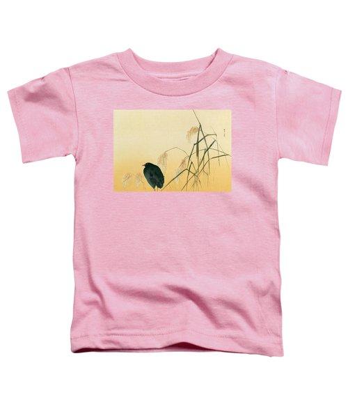 Blackbird Toddler T-Shirt by Japanese School