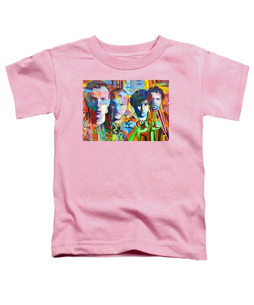 Coldplay Toddler T-Shirt by Joshua Morton