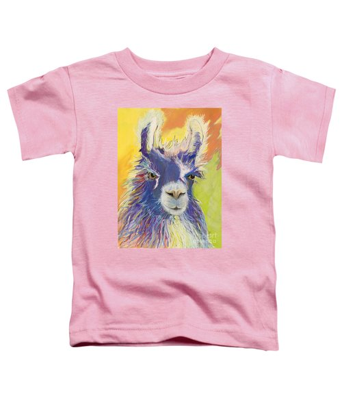 King Charles Toddler T-Shirt by Pat Saunders-White