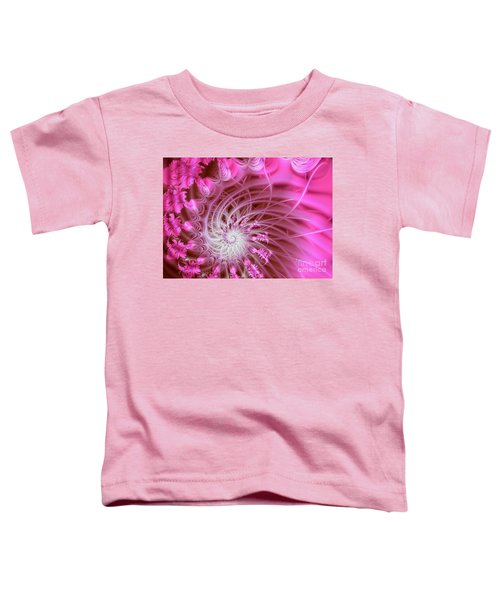 Pink Toddler T-Shirt by Lena Auxier