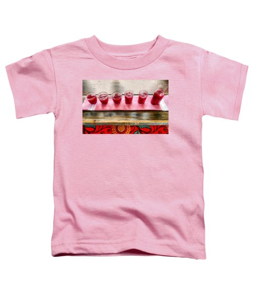 Putting Up Preserves Toddler T-Shirt by Michelle Calkins