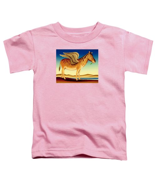 Quagga Toddler T-Shirt by Frances Broomfield