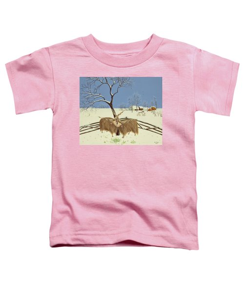 Spring In Winter Toddler T-Shirt by Magdolna Ban