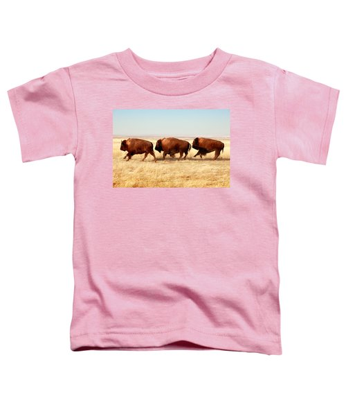 Tatanka Toddler T-Shirt by Todd Klassy