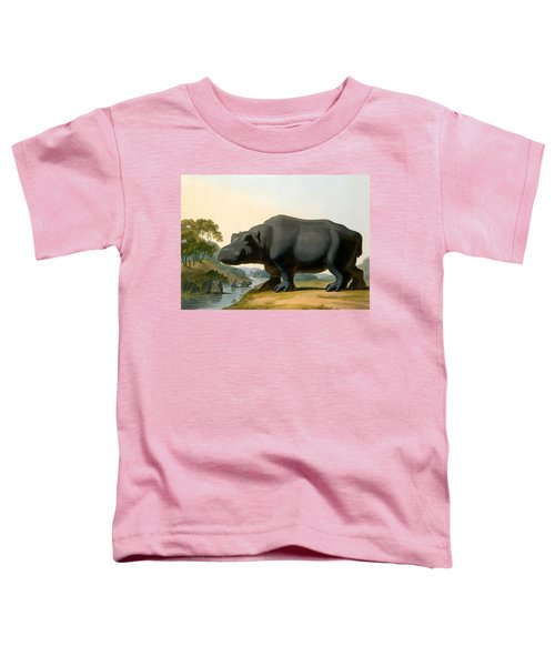 The Hippopotamus, 1804 Toddler T-Shirt by Samuel Daniell