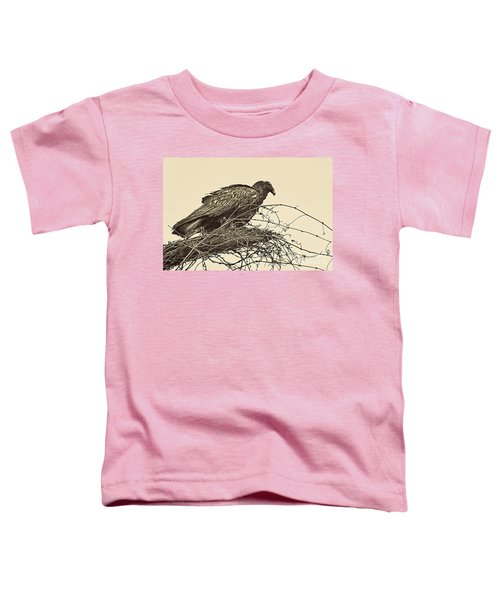Turkey Vulture V2 Toddler T-Shirt by Douglas Barnard