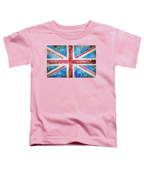 Union Jack Toddler T-Shirt by Sean Parnell