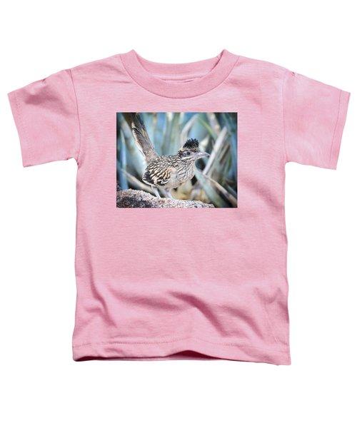 A Juvenile Greater Roadrunner  Toddler T-Shirt by Saija  Lehtonen