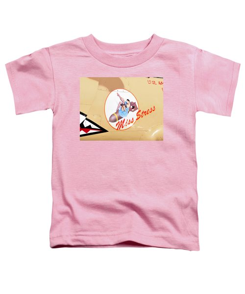 Miss Stress Toddler T-Shirt by David Lee Thompson