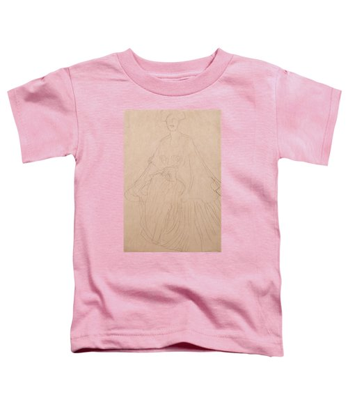 Adele Bloch Bauer Toddler T-Shirt by Gustav Klimt