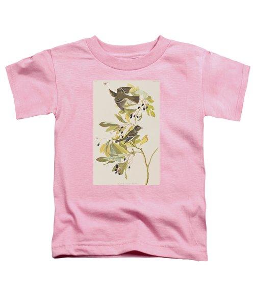 Small Green Crested Flycatcher Toddler T-Shirt by John James Audubon