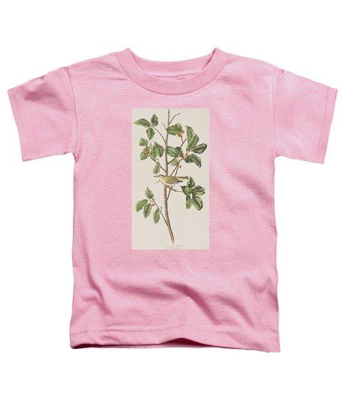 Tennessee Warbler Toddler T-Shirt by John James Audubon