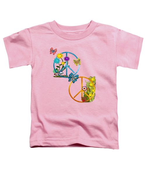 A Very Hippy Day Whimsical Fantasy Toddler T-Shirt by Sharon and Renee Lozen