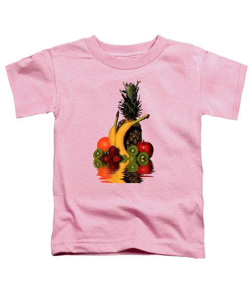 Fruity Reflections - Light Toddler T-Shirt by Shane Bechler