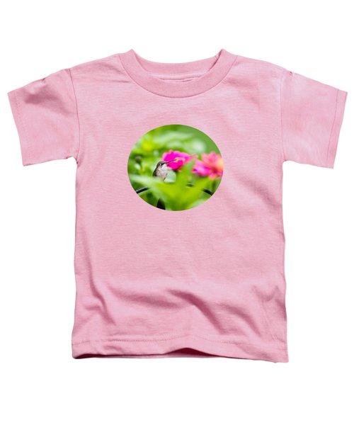 Pretty Garden Jewel Toddler T-Shirt by Christina Rollo