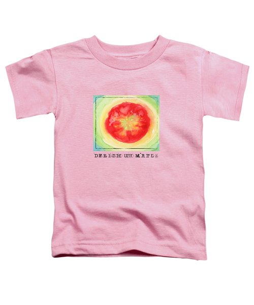Fresh Tomato Toddler T-Shirt by Kathleen Wong