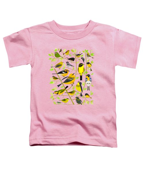 Warblers 1 Toddler T-Shirt by Scott Partridge