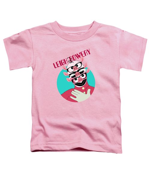 Leigh Bowery Toddler T-Shirt by Mark Ashkenazi