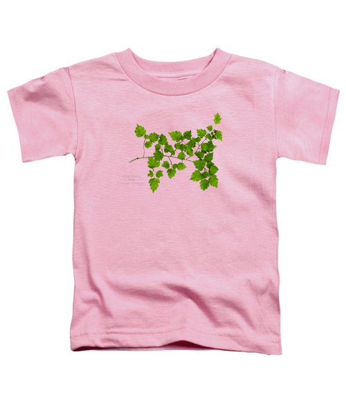 Hawthorn Toddler T-Shirt by Christina Rollo