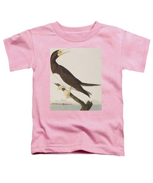 Booby Gannet   Toddler T-Shirt by John James Audubon