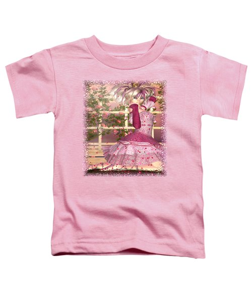 Breath Of Rose Fantasy Elf Toddler T-Shirt by Sharon and Renee Lozen