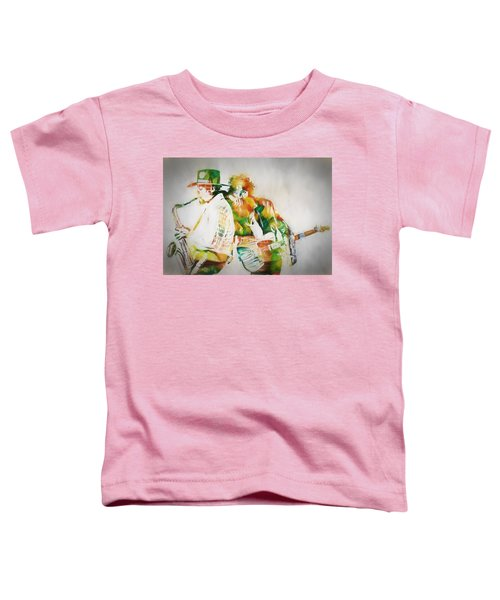 Bruce And The Big Man Toddler T-Shirt by Dan Sproul