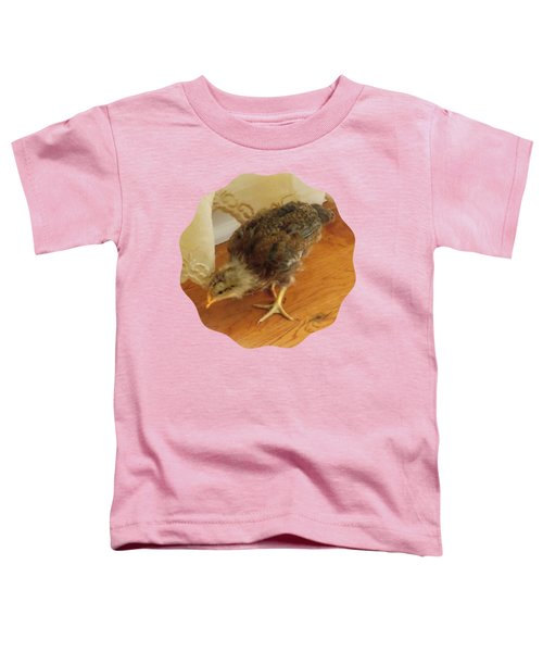 Chic Chickie Toddler T-Shirt by Anita Faye